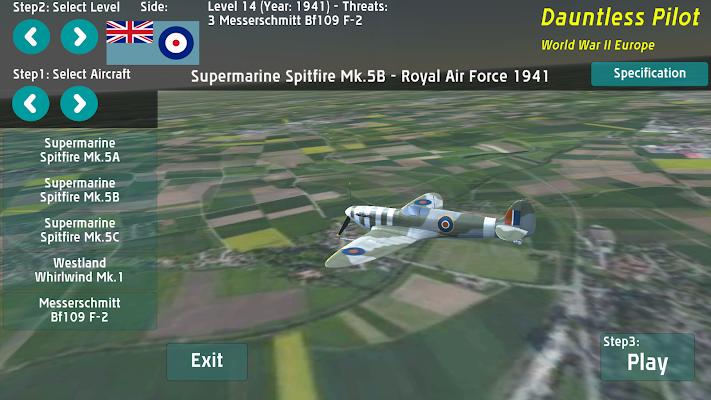 DP World Warplanes WW2 Demo - screenshot