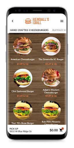 kendall's grill screenshot 3