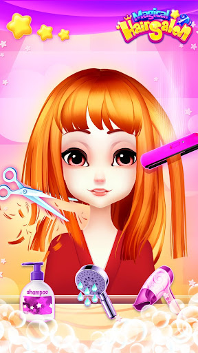 Magical Hair Salon: Girl Makeover 1.1.4 screenshots 4