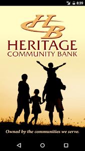 Heritage Community Bank screenshot 0