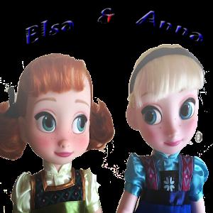 Jigsaw Anna & Elsa Puzzle Game
