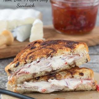 Gourmet Grilled Ham Sandwich