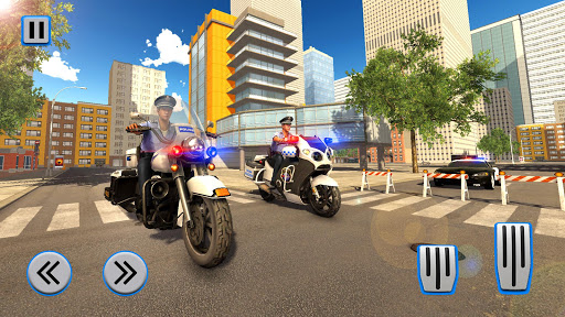 Police Moto Bike Chase – Free Shooting Games 1.6 screenshots 1