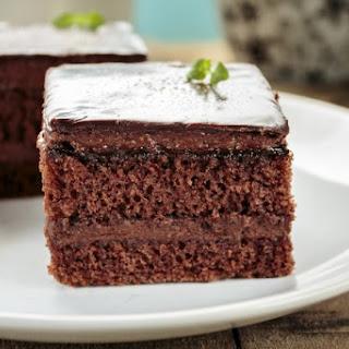 Chocolate Zucchini Cake.
