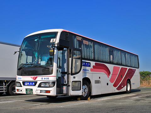 西鉄高速バス「桜島号」 9135 北熊本SAにて その1