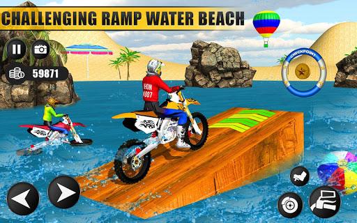 Beach Water Surfer Dirt Bike: Xtreme Racing Games apkdebit screenshots 8