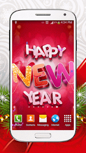 New Year Live Wallpaper HD screenshot 5