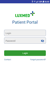 LUX MED Patient Portal - náhled