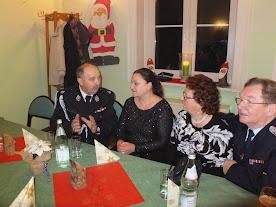 Auch der Wehrführer unserer polnischen Partnergemeinde war mit seiner Gattin zu Gast! (zum Öffnen der Bildergalerie auf das Bild klicken - alle Bilder A.M. für © gemeinde-tantow.de)