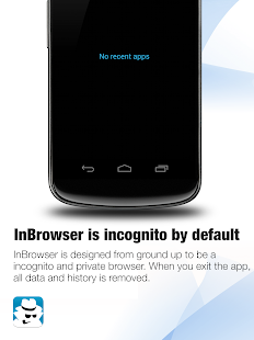 InBrowser - Inkognito Surfen Screenshot