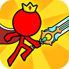 Red Stickman : Animations vs Stickman Fighting