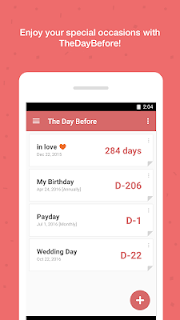 TheDayBefore (D-Day widget) screenshot 03