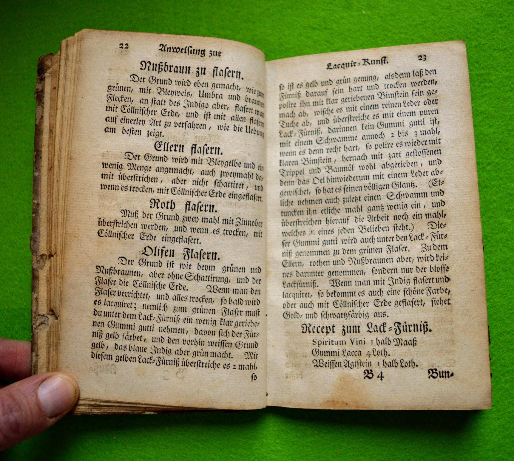 Lackierbuch 1755 - flasern