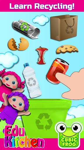 Toddler Kitchen Food Cooking Games-EduKitchen Girl 7.24 screenshots 2