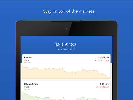 Coinbase u2013 Buy and sell bitcoin. Crypto Wallet for Android apk 6