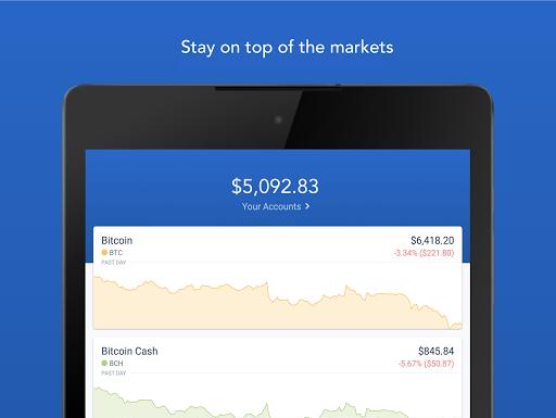 Coinbase - Buy Bitcoin & more. Secure Wallet. 5.5.1 screenshots 6