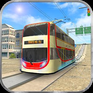 Real Tram Driving Sim 2018: City Train Driver