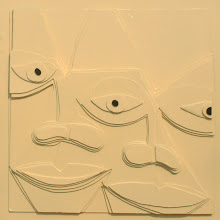 """Photo: A Bargain Agreement20"""" x 20""""2011Ply board with Acrylic Lacquer"""