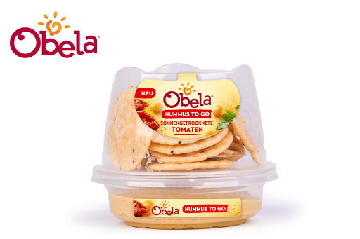 Bild für Cashback-Angebot: Obela Hummus to go Sonnengetrocknete Tomaten - Obela