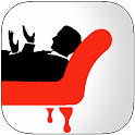 Anonymous chat online - Couch icon