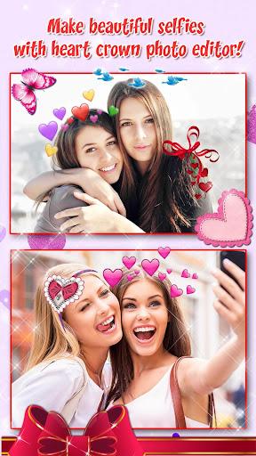 Heart Crown Photo Editor ? Selfie Camera App 1.3 screenshots 5