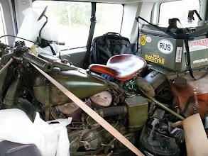Photo: uff Wojownik na pokładzie, zostawił nawet trochę miejsca dla mnie