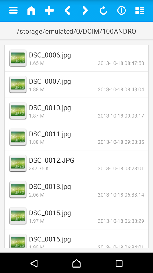 how to move files to sd card with file comander