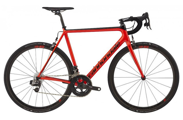 Cannondale Supersix EVO HI-MOD Red E-Tap