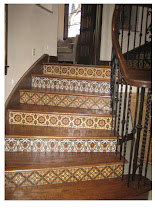 Photo: Malibu Tile Works - Stair Riser Tiles - Austin, Texas
