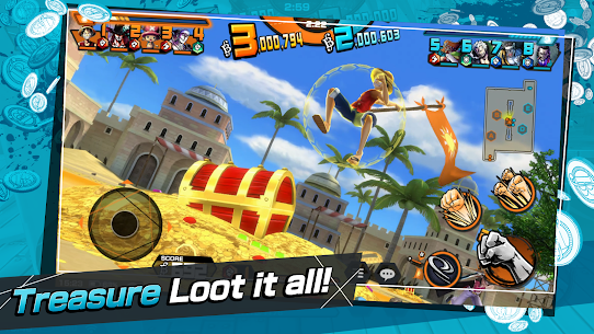 ONE PIECE Bounty Rush Mod Apk [No Skill CD + Dumb Enemy] 8