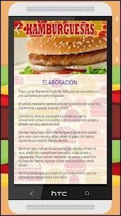 Recetas de hamburguesas - náhled