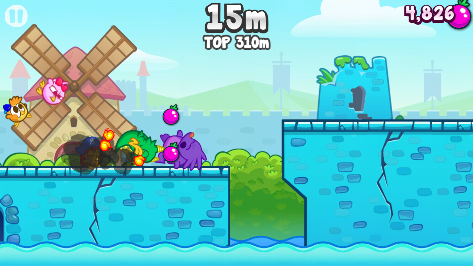 Kiwi Run - screenshot