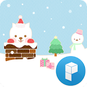 Cute Santa Launcher Theme