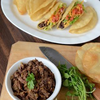 Steak Carnita Meat in the Crockpot