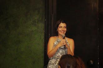 Photo: A Presidente da REDARTE, Alpina Rosa.