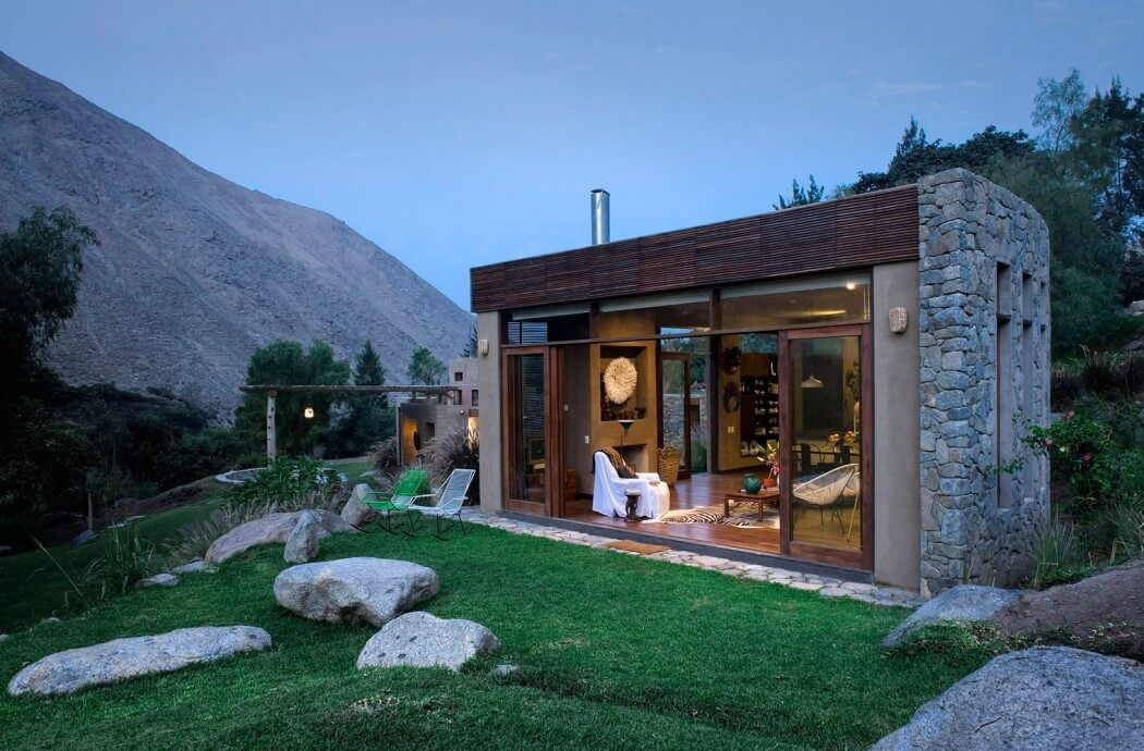 Dosis arquitectura casa de piedra en distrito de for Arquitectura ergonomica