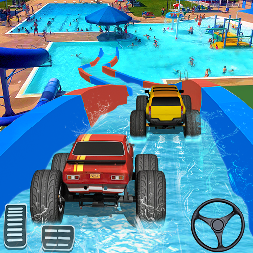 Xtreme Monster Truck Waterslide Race file APK for Gaming PC/PS3/PS4 Smart TV