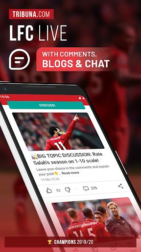 LFC Live – Unofficial app for Liverpool fans 3.2.9.1 screenshots 1