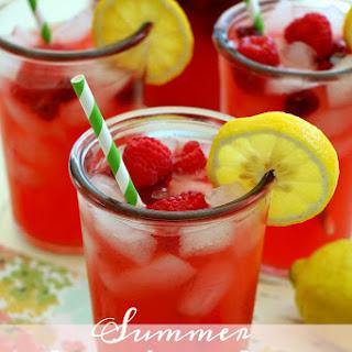 Summer Raspberry Lemonade Punch