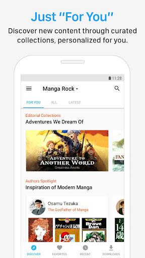 Manga Rock - Best Manga Reader app (apk) free download for Android/PC/Windows screenshot