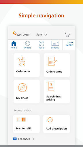 OptumRx screenshot for Android