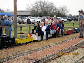 Photo: Conductor Bill Smith at right   2014-0315 DH3