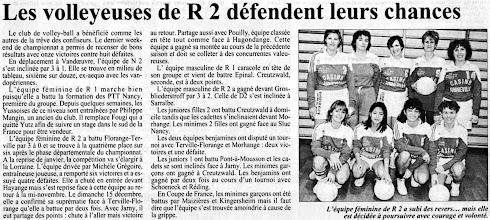 Photo: 07-01-97 L'équipe R2F emmenée par Michèle Grégoire