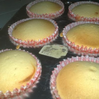 Yellow Custard Cupcake