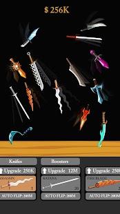 Idle Knife Flipper - flip flippy knifes - náhled