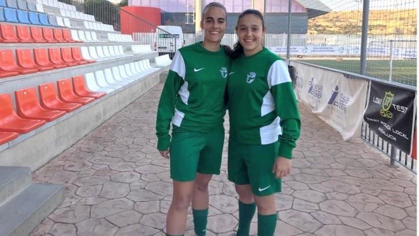 Las jugadoras rojiblancas con la Selección Andaluza en Viator.