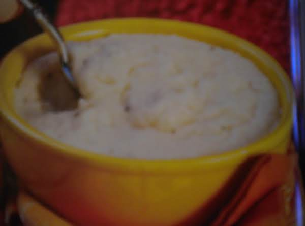 White Chedder Cheese Grits