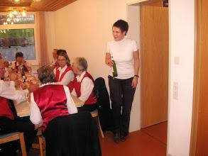 Photo: Die neue Heimleiterin in Aktion