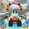 GT Monster Truck Racing : Mega Ramp Stunts icon