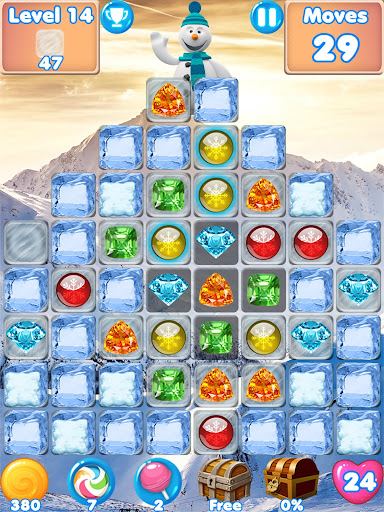 Snowman Swap - match 3 games New match 3 puzzle image | 7